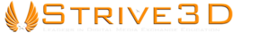 Strive 3d's Company logo