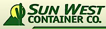 Sun West Container's Company logo