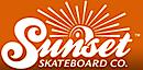 Sunset Skateboard's Company logo