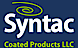Mactac's Competitor - Syntac Coated Products logo