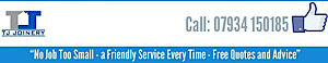 T.j Joinery's Company logo