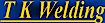 T K Welding Logo