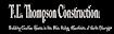 Key Handler's Competitor - T.l. Thompson Construction logo