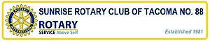 Tacoma Sunrise Rotary's Company logo