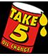 Take 5 Oil Change's Company logo