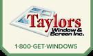 Taylors Windows & Screens's Company logo