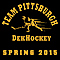 Team Pittsburgh Dek Hockey Logo