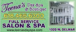 Teena's Day Spa And Boutique's Company logo