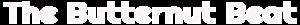 The Butternut Beat's Company logo
