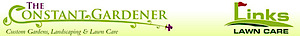 The Constant Gardener & Links Lawn Care's Company logo