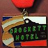 The Crockett Hotel An 1859 Historic Hotel's Company logo