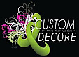The Custom Decor's Company logo