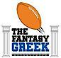 The Fantasy Greek. Strabos Communications's Company logo