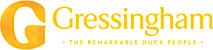 The Gressingham duck's Company logo