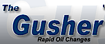 The Gusher Rapid Oil Changes's Company logo