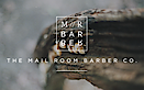 The Mail Room Barber's Company logo