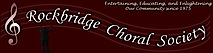 The Rockbridge Choral Society's Company logo