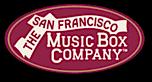 The San Francisco Music Box Company's Company logo