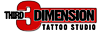 Ink Splat 13 Tattoo & Body Piercing's Competitor - Third Dimension Tattoo & Piercing logo