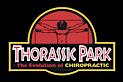Thorassic park's Company logo