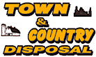 Town and Country Disposal's Company logo