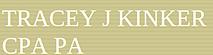Tracey J Kinker's Company logo