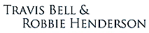 Travis Bell and Robbie Henderson's Company logo