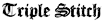 Michael Handler's Competitor - Triple Stitch logo