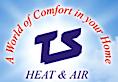 TS Heat & Air's Company logo