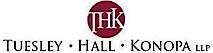 Tuesley Hall Konopa's Company logo