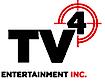 TV4 Entertainment's Company logo