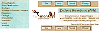 Two Monkeys Graphic's Company logo