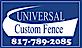 Betafence USA's Competitor - Universal Custom Fence logo