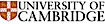 University of Birmingham's Competitor - University of Cambridge logo