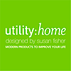 Utility:home Designed By Susan Fisher's Company logo