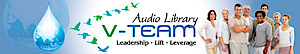 V-team Tv's Company logo
