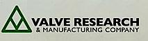 VALVE RESEARCH & MFG's Company logo