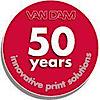 Van Dam Machine's Company logo