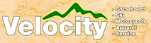 Velocity Moto & Snow's Company logo