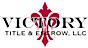Victory Title & Escrow Logo
