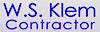 Pankow's Competitor - W.S. Klem logo