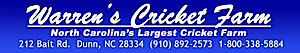 Warren's Cricket Farm's Company logo