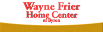 Wayne Frier Home Center Of Byron's Company logo