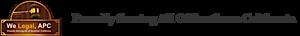 We Legal, Apc's Company logo