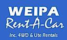 Weipa Rent-A-Car's Company logo