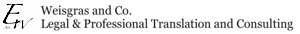 Weisgras And Co. Legal Translation And Consulting's Company logo