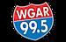 99.9 KEZ's Competitor - WGAR 99.5 logo