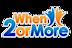 When2ormore Logo