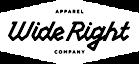 Wide Right Apparel's Company logo