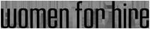 Women For Hire's Company logo